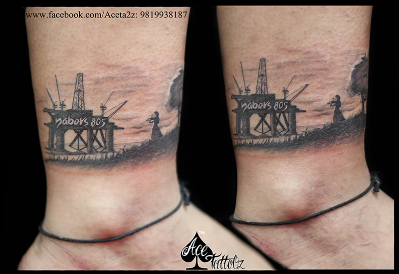 oil rig tattoos drilling rig tattoo designs related keywords drilling rig tattoo designs long. Black Bedroom Furniture Sets. Home Design Ideas