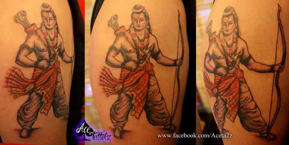 Lord Ram Tattoos Ace Tattooz