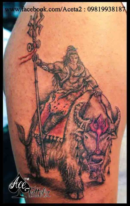 Shiva & Nandi | God Tattoo Designs on Arm