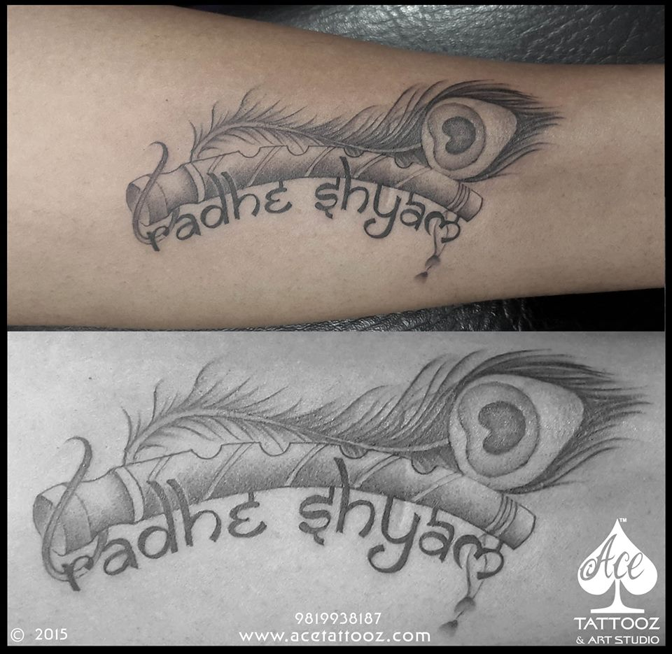 Best_Krishna_Tattoo_Designs