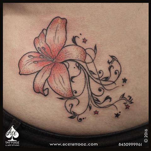Unique Flower Tattoo Designs for Women