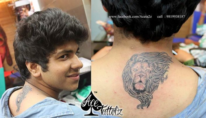 Lion Inked Tattoo by Archana Bhanushali