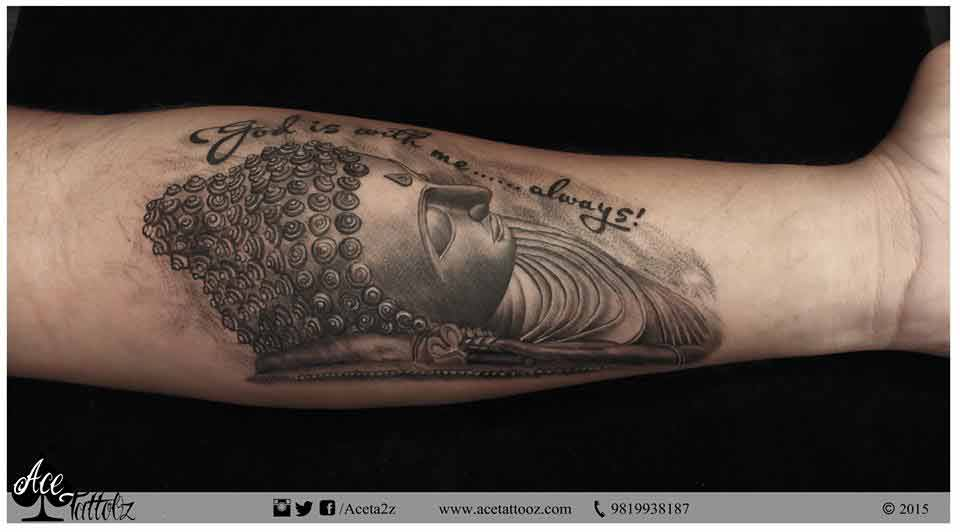 Sleeping Buddha Tattoo