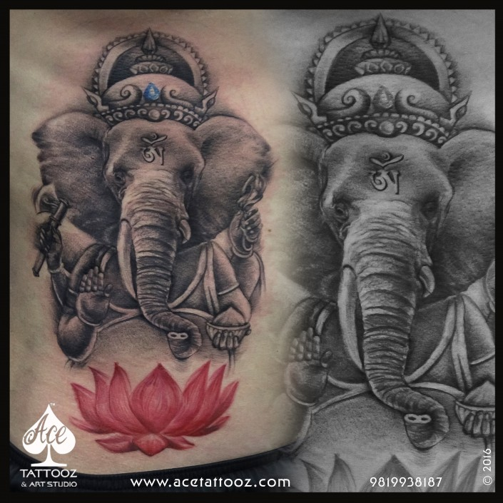 Ganesha Tattoo Design for Mathiew