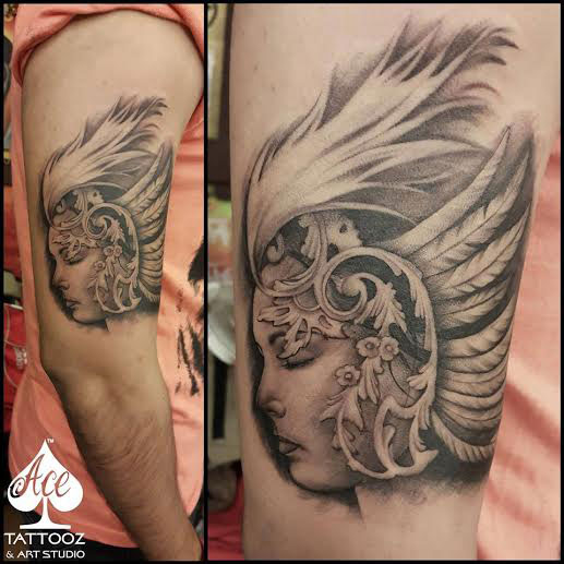 Beautiful Girl Tattoo Designs