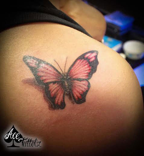 Butterfly Tattoo Designs for Women