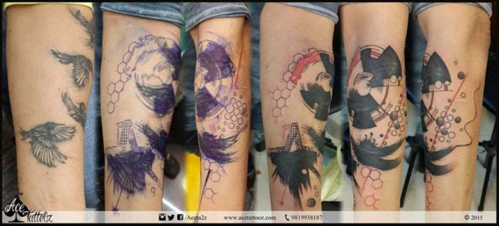 Cover Up Tattoo On Arm
