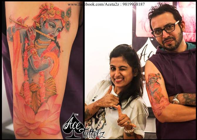 LORD KRISHNA TATTOOS