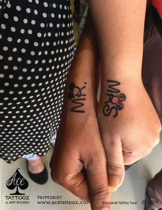 Mr and Mrs Best Couple Tattoos Ever