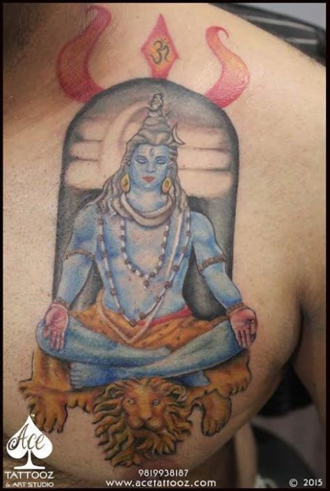 Lord Shiva God Tattoo Designs