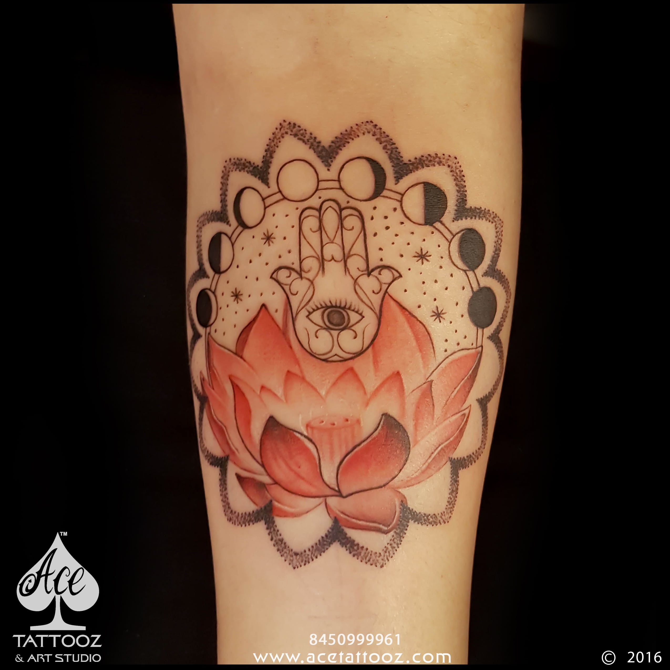 Hamsahand Tattoo