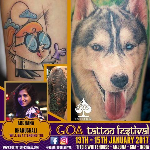 Goa Tattoo Festival 2017