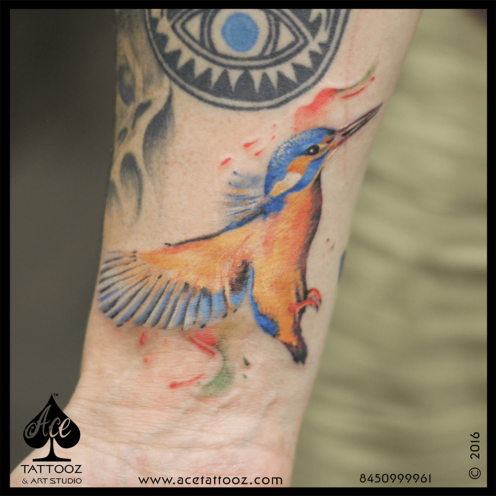 Kingfisher Tattoo Designs