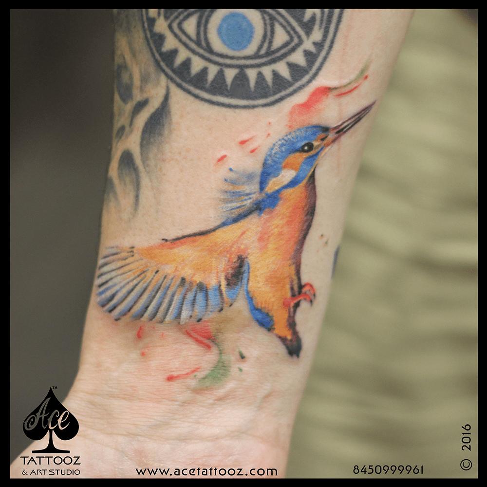 Kingfisher Tattoo Designs