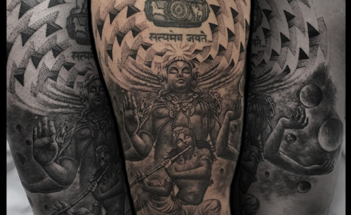 Lord Vishnu Avatar Tattoo