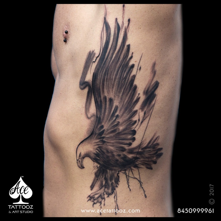 Eagle Freestyle German Tattoo