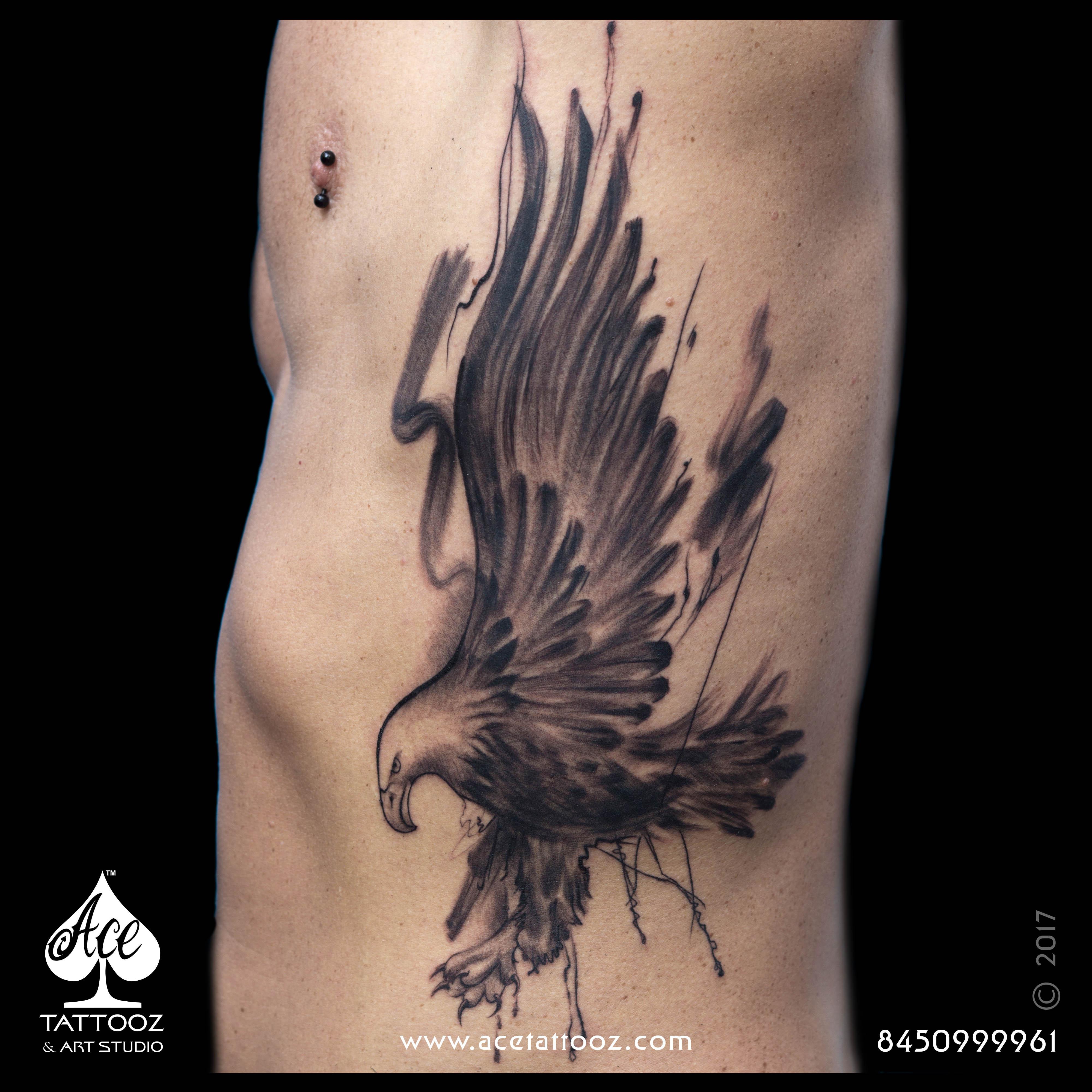 Freestyle Eagle Tattoo