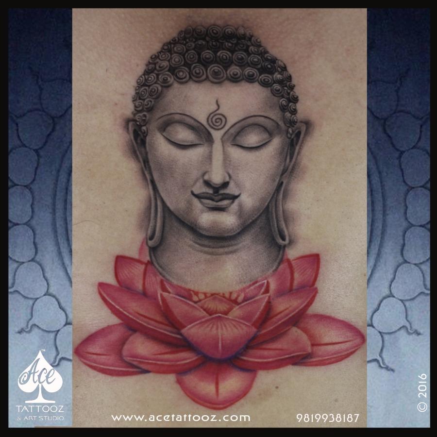 Buddha Lotus Tattoo Ace Tattooz