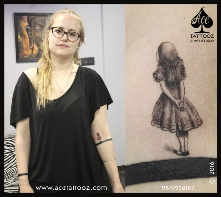 Cinderella 3D Tattoo Designs on Hand