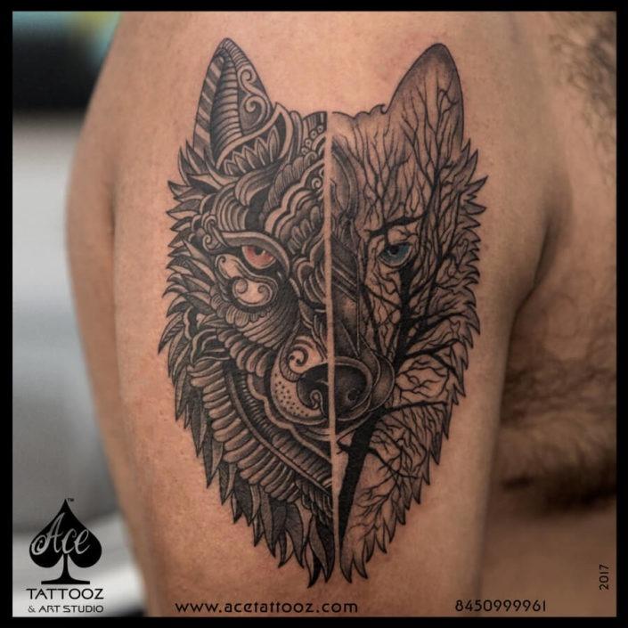 Geometric Unique Tattoo Designs for Men