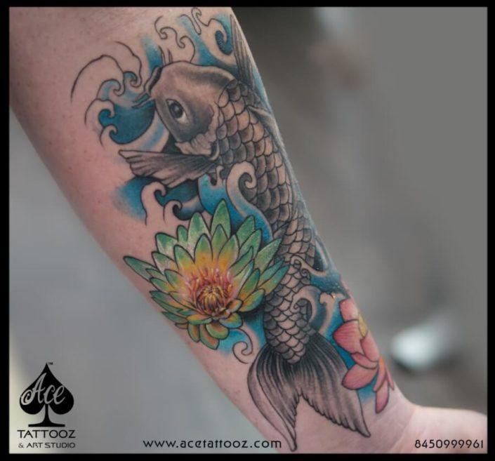 Koi Fish Tattoo