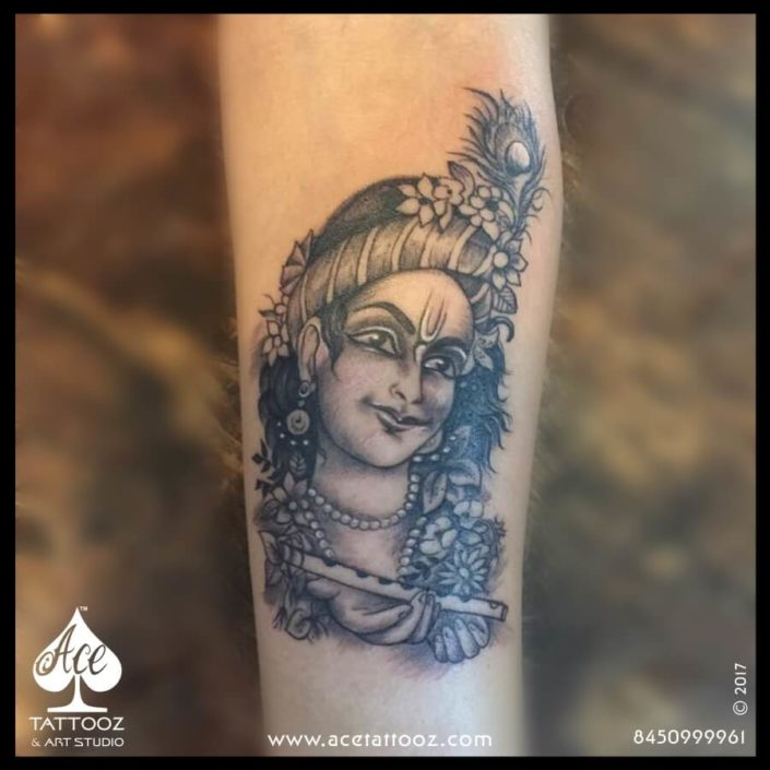 Krishna Tattoo