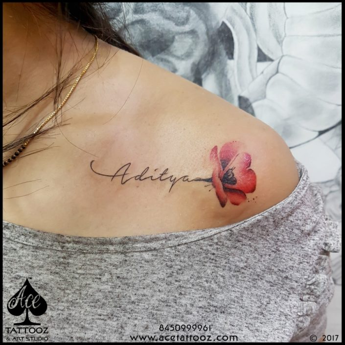 Typography And Name Tattoos Ace Tattooz Best Tattoo