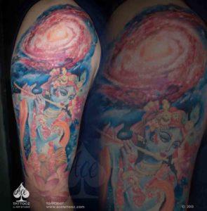 Award Winning God Tattoo Designs Sleeve