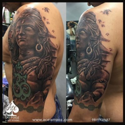 Cover Up Lord Shiva God Tattoos On Hand For Men Ace Tattooz