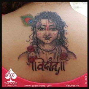 Krishna | God Tattoo Designs for Women