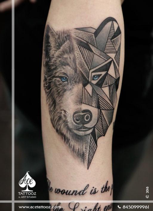 Wolf Tattoo Ace Tattooz
