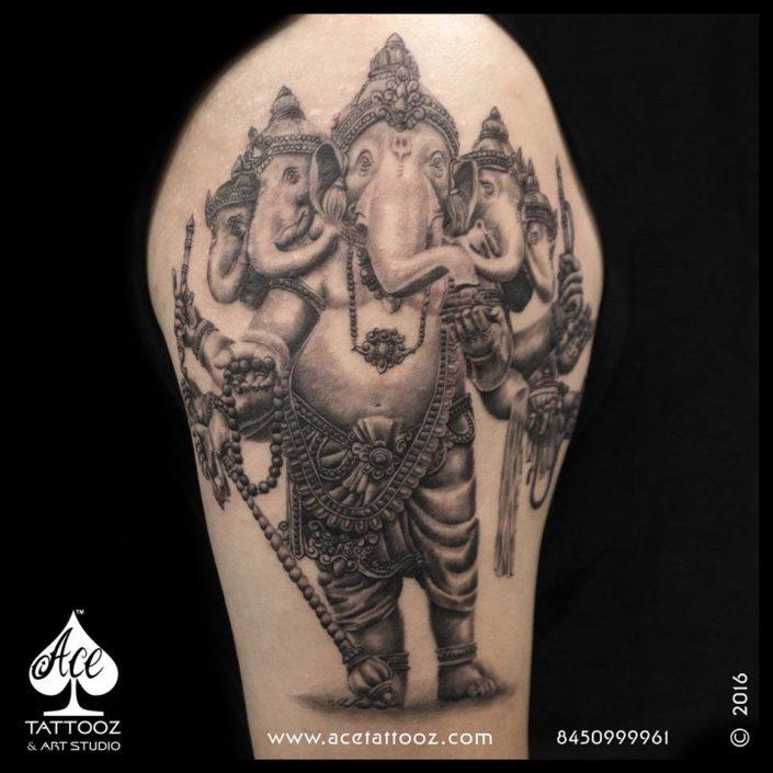 Best Lord Ganesha Tattoos