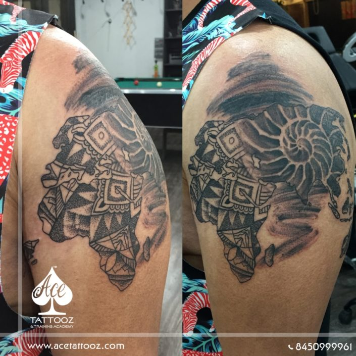 Black and Grey Tattoo Designs
