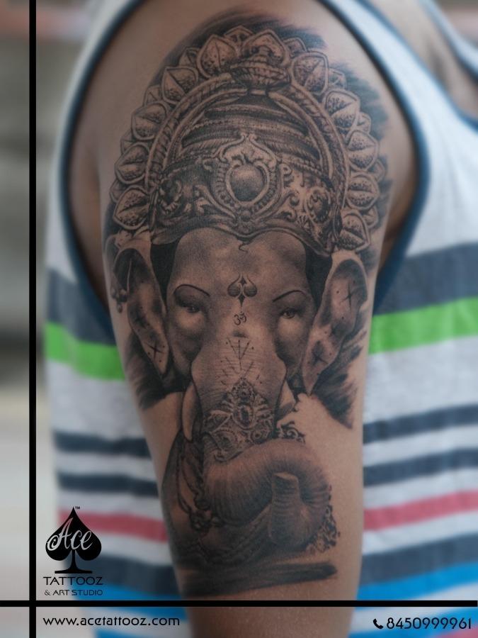 3D Tattoo Designs on Hand