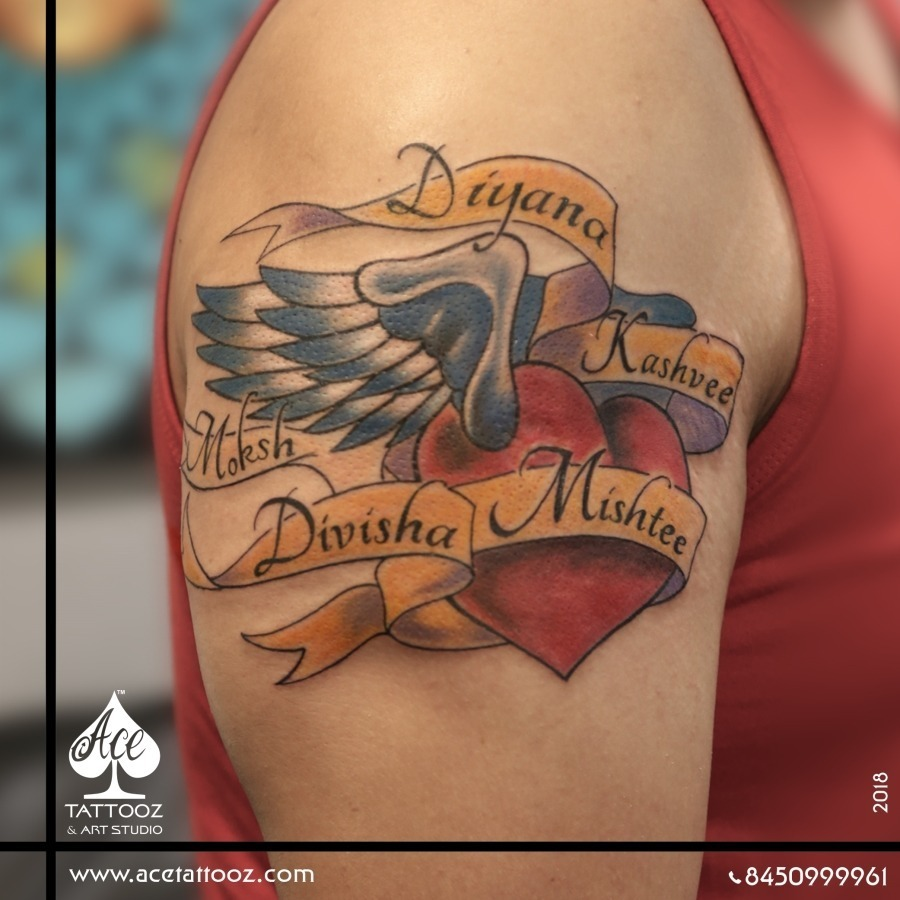 Top 12 Best Name Tattoos Designs Ace Tattooz Art Studio 8,467 likes · 60 talking about this. top 12 best name tattoos designs ace