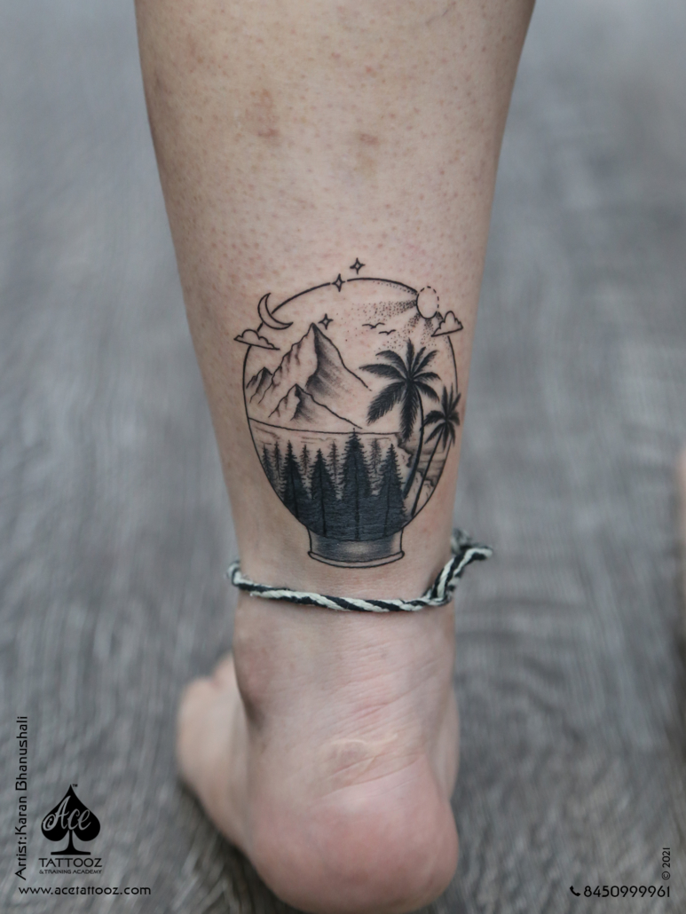 Dotwork Tattoo Designs