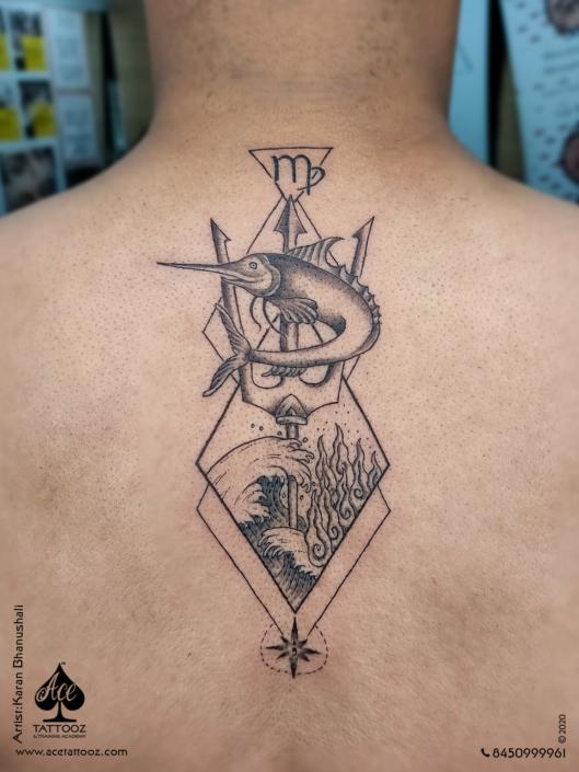 Back Tattoo Designs for Men